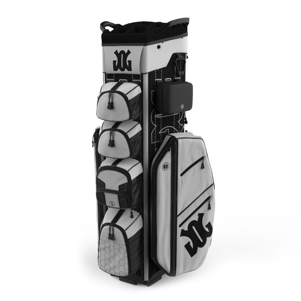10月ゴルフギアカートバッグ基本キット2017 Glacierホワイト B071XPVV47