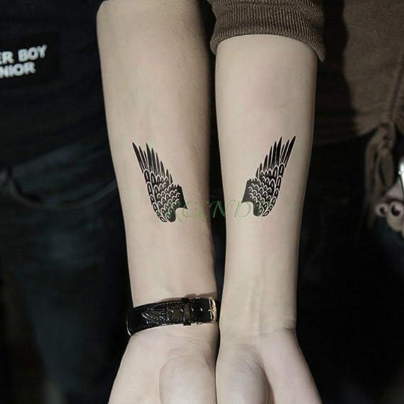 tzxdbh 5 Unids-Etiqueta Engomada del Tatuaje Impermeable Pez ...