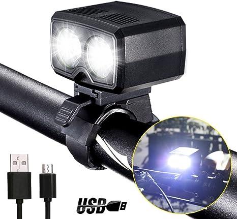 darkbeam para bicicleta de montaña faros delanteros LED batería ...