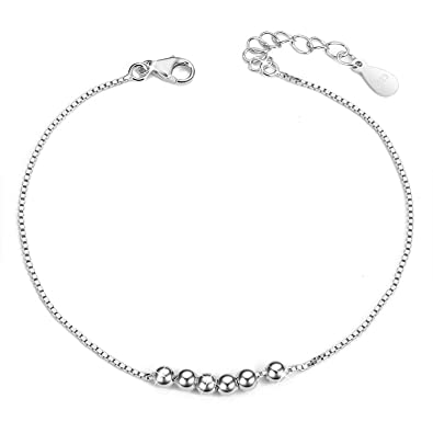 39a47fe623ad7 Amazon.com: SHEGRACE Simple Design 925 Sterling Silver Chain ...