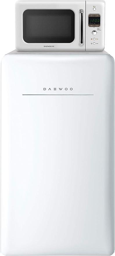 Amazon.com: Refrigerador compacto retro Daewoo, 4.4 ...