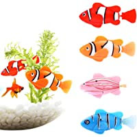 Webby Water Activated Robotic Fish 1 Piece with Accessories