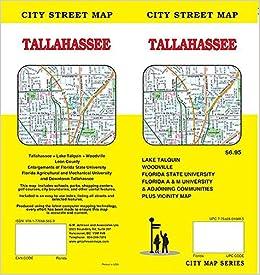 Tallahassee Florida Street Map GM Johnson 9781770685659 Amazon