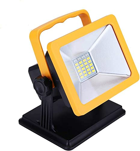 36 LED Super Bright Heavy Duty Self Standing Base Trouble Light Grounded Outlet