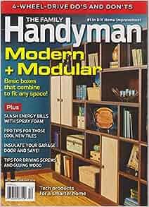 The Family Handyman Magazine December January 2015
