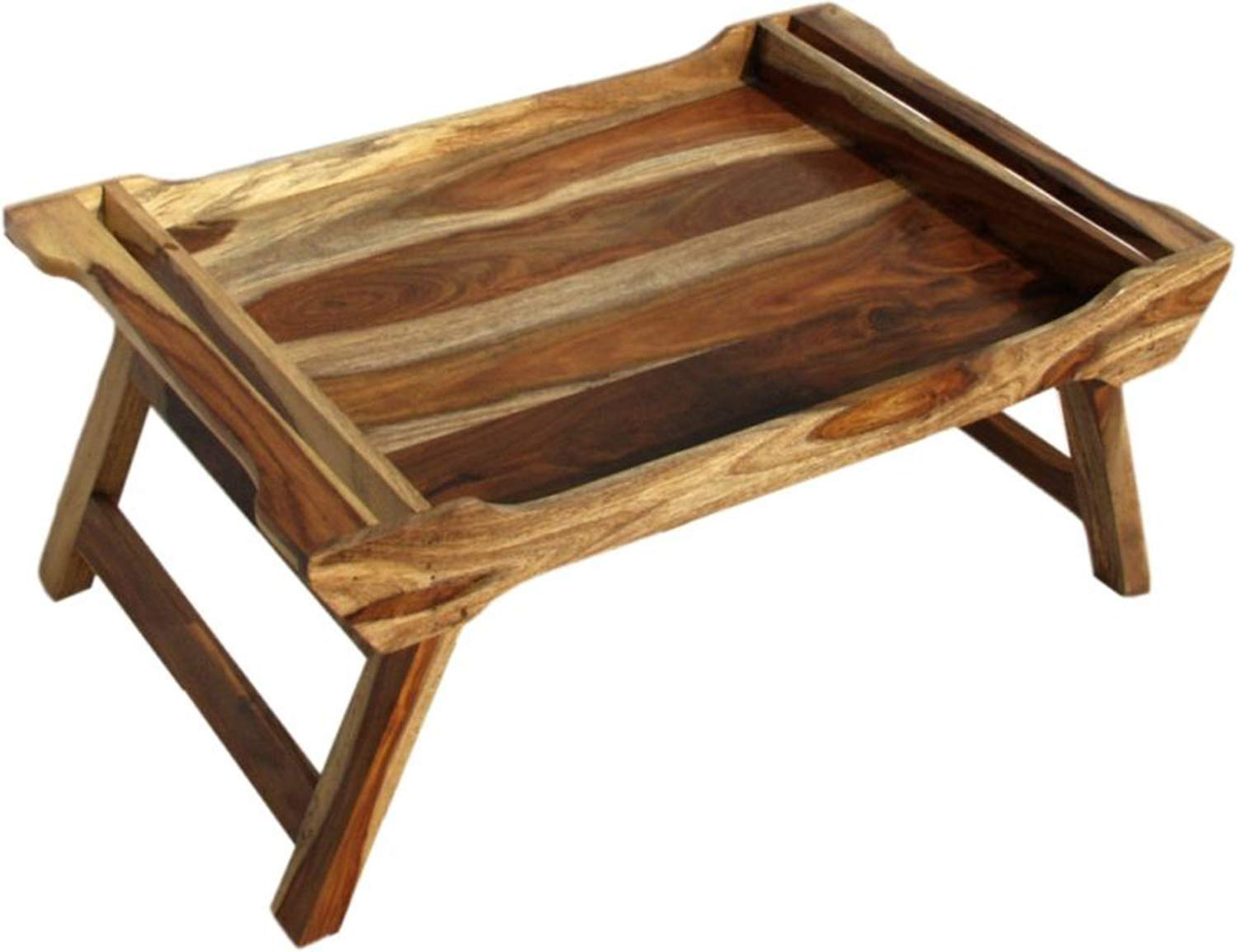 Thd The Home Dekor Blaze Solid Wood Bed Serving Table