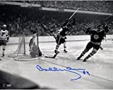 "Bobby Orr Boston Bruins Autographed 8"" x 10"" The Goal Photograph - Fanatics Authentic Certified - Autographed NHL Photos"