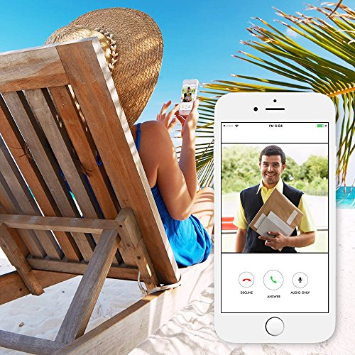 Wireless WiFi Video Doorbell Kit - VueBell Outd...