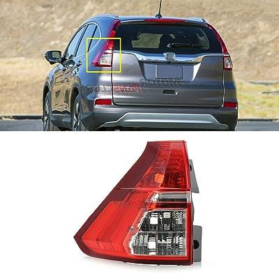 MotorFansClub for Honda CRV CR-V 2015 2016 Tail Light Brake Rear Lamp Left Driver: Automotive