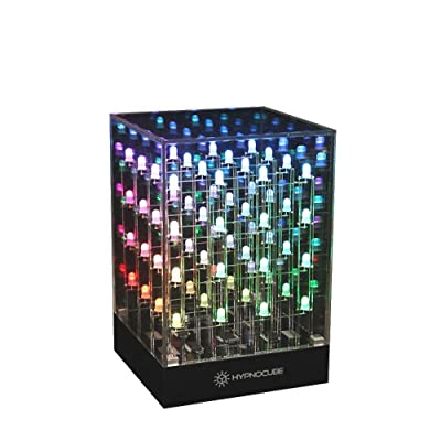 Hypnocube 4 Cube, Animated Light Sculpture: Toys & Games [5Bkhe0200479]