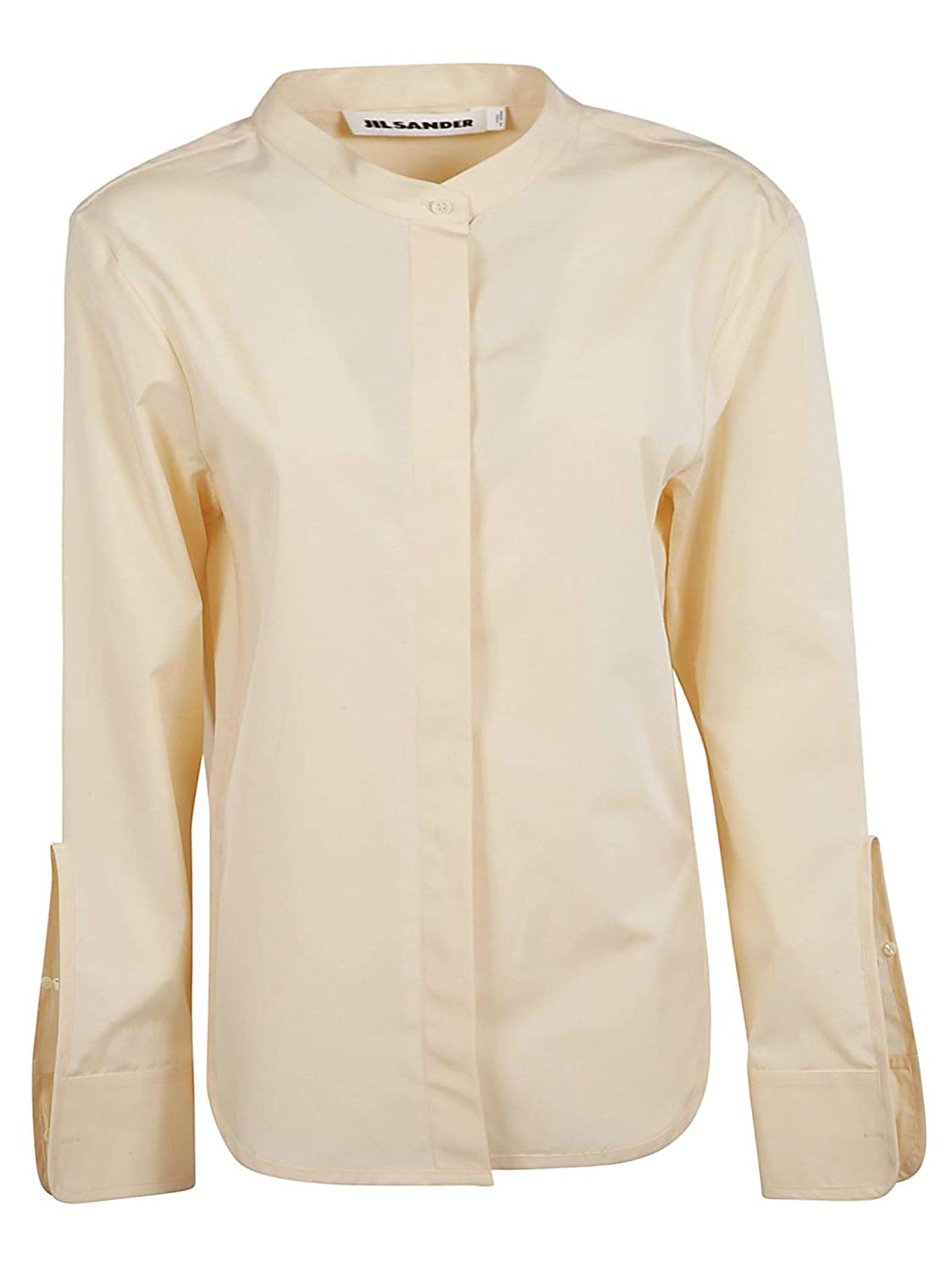 Jil Sander Women's JSPO601205WO244300107 Beige Cotton Shirt