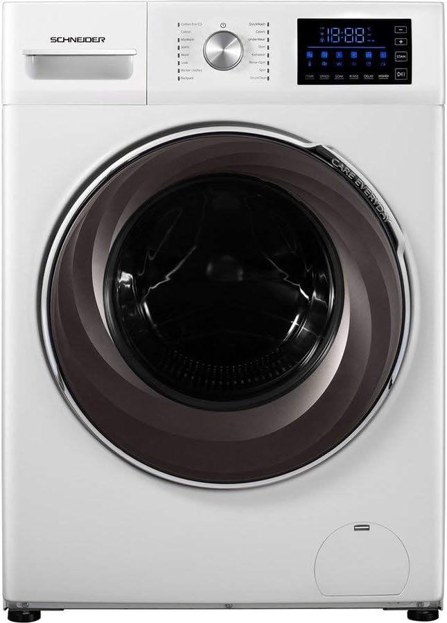 Schneider SWA8-E1416I - Lavadora (10 kg, 1400 RPM, eficiencia energética A++), Color Blanco