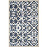 Modway R-1142C-58 Ariana Area Rug, 5″ x 8″, Blue/Beige For Sale