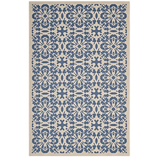 Modway R-1142C-810 Ariana Chevron with End Borders 8x10 Area Rug, Twin, Light and Dark Beige by Modway