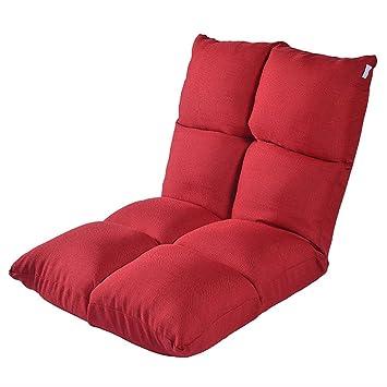 Juegos de colchones y canapés bolsa de dormir Sofá perezoso Tatami sofá pequeño individual Sofá cama japonés plegable Silla dormitorio balcón almuerzo ...