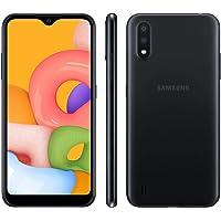 "Smartphone Samsung Galaxy A15 32GB Tela 5.7"" Câmera 13MP - Preto"