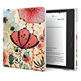 Case All-New Kindle Oasis (9th Generation, 2017 Release Only) Premium Ultra Lightweight PU Leather Cover Auto Wake/Sleep Amazon 7'' Kindle Oasis E-Reader Case, Lotus