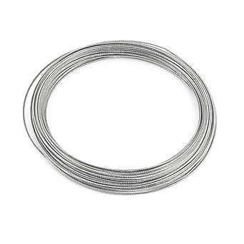 Amazon.com: Uxcell 1 mm Dia 7 x 7 25 M largo flexible cable ...
