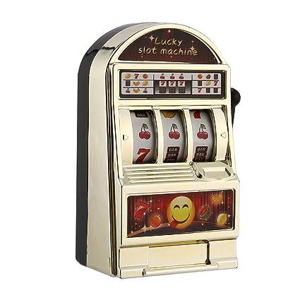 Máquina tragamonedas para niños Mini Toy Tiempo libre Lucky Jackpot para divertirse Regalo de cumpleaños Kids