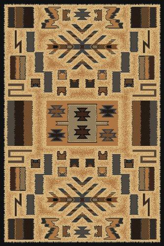- Designer Home Urban Area Rug 040-38572 Pelham Grey Geometric Native American 5' 3