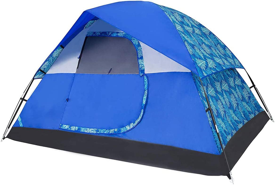 Alvantor Family Camping Tents 4 People Waterproof Tents Easy Setup 9 x 7 Patent Oak Printing Xplorer Tribe Tent