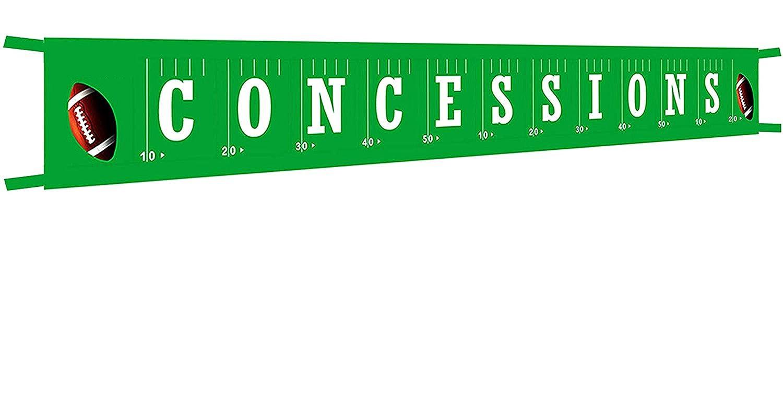 Amazon.com: Pancarta grande de concesiones de fútbol ...
