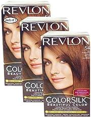 Revlon Hair Color Light Golden Brown(54) (Pack of 3) 695547
