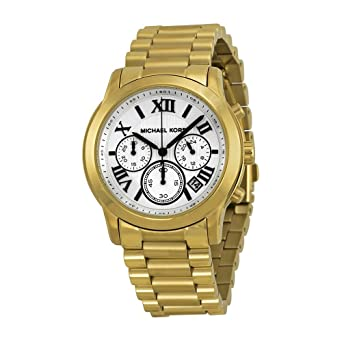 edfd8793dd6a Amazon.com  Michael Kors Women s Cooper Gold  Michael Kors  Watches