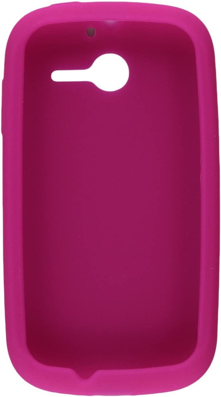 Asmyna HWM866CASKSO008 Slim and Soft Durable Protective Case for Huawei Ascend Y - 1 Pack - Retail Packaging - Hot Pink