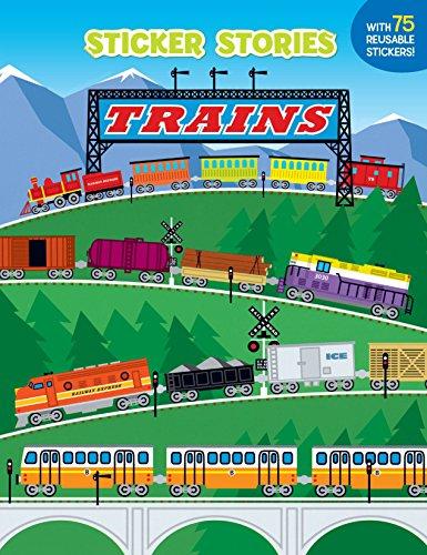 Trains (Sticker Stories) ()