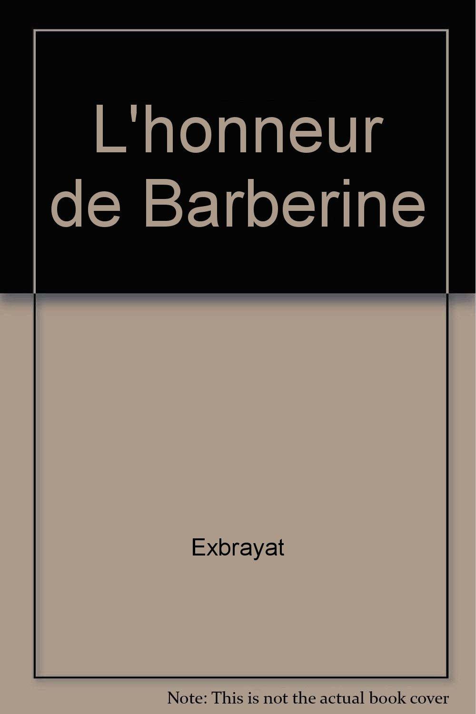 lhonneur de barberine