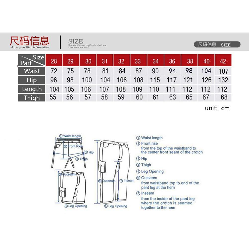 Mens Cargo Pants Work Trousers Cargo Combat Leisure Outdoor Cotton Overalls