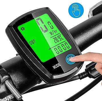 LWBN Cuentakilómetros para Bicicleta, CuentakilóMetros Cableado ...