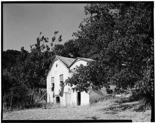 HistoricalFindings Photo: Malaguerra Winery,Burnett Road,Morgan Hill,Santa Clara County,California,CA - Morgan Winery California