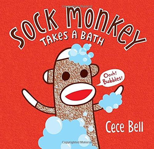 Sock Monkey Takes a Bath (Super Sock Monkey)