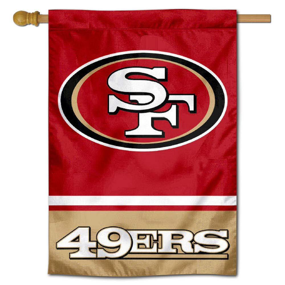 WinCraft San Francisco 49ers Two Sided House Flag