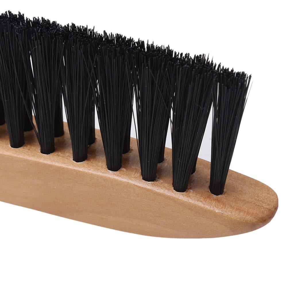 LWANFEI Billiard Table Brush Wooden Cleaner Billiard Pool Table Cleaning Durable Tool Accessories,2#