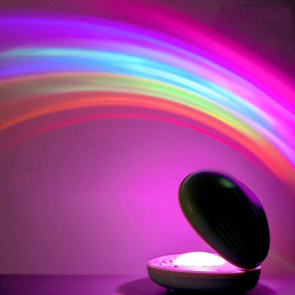 WE-WIN Proyector de Arco Iris Luz de Noche Led Lámpara de ...
