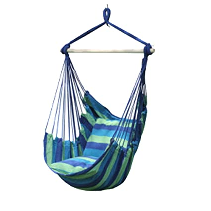 YAOBAO Hanging Hammock Chair, Hanging Swing Chair With Two Cushions, 51  Inch Wide Seat