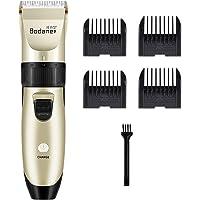 Limón-Máquina de cortar pelo con cuchillas afiladas de larga duración para un corte de pelo óptimo, Recargable con cable Usb o pilas, 5 niveles de adjuste
