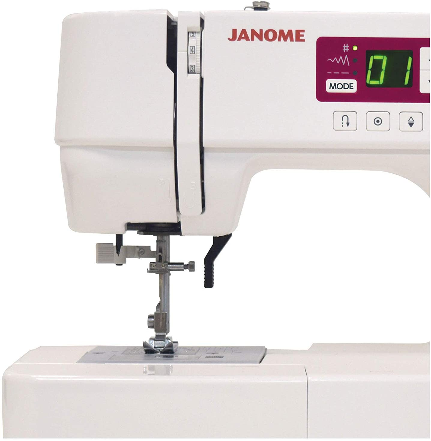 Clear Plastic Bag of 10 Janome New Home Top Load