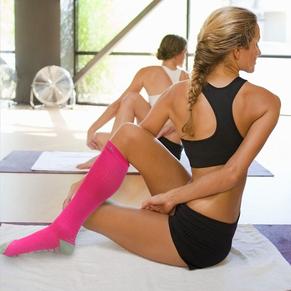 Running Graduated Compression Stockings Athletic Sports Shin Splints ULTPEAK Compression Socks Women /& Men Medical Pregnancy Travel