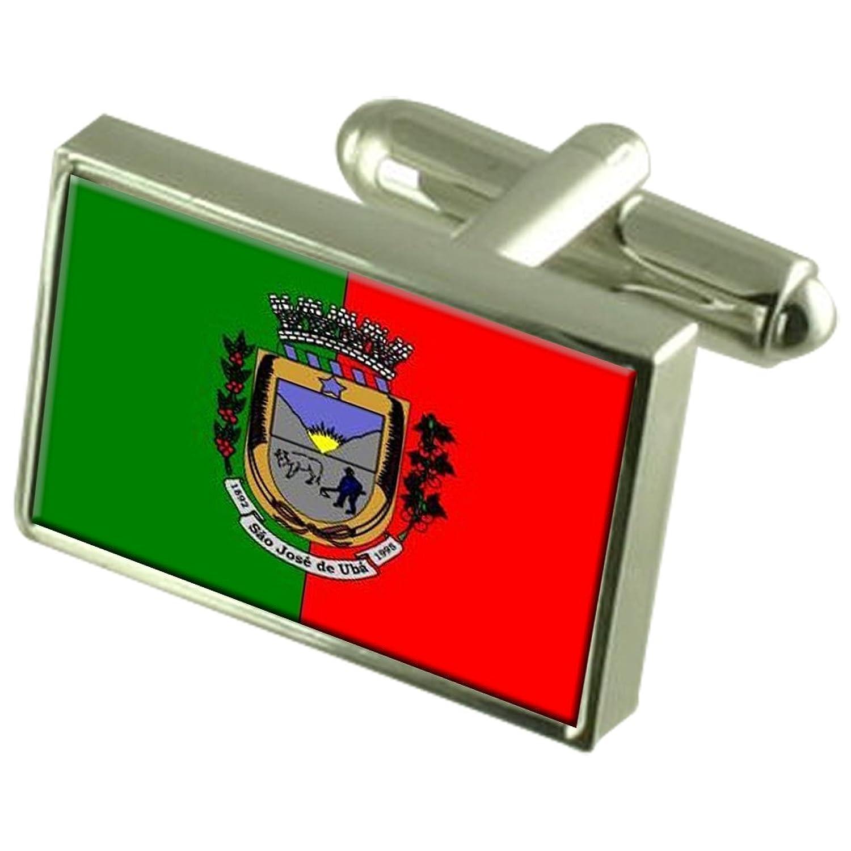 a157ac4532ad Sao José de Uba Ciudad bandera del estado de Río de Janeiro gemelos cuadro  grabado