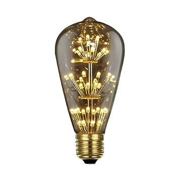 GZQ E27 Bulbs Vintage Retro Industrial Style Screw Edison Lamp Light For  Home Loft Bedside Bedroom