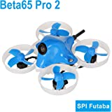 BETAFPV Beta65 Pro 2 Brushless Whoop Drone with 2S F4 AIO FC Futaba RX 5A ESC 25mW Camera 35 Degree OSD Smart Audio 12000KV 0802 Motor PH2.0 Cable for Tiny Whoop FPV Racing