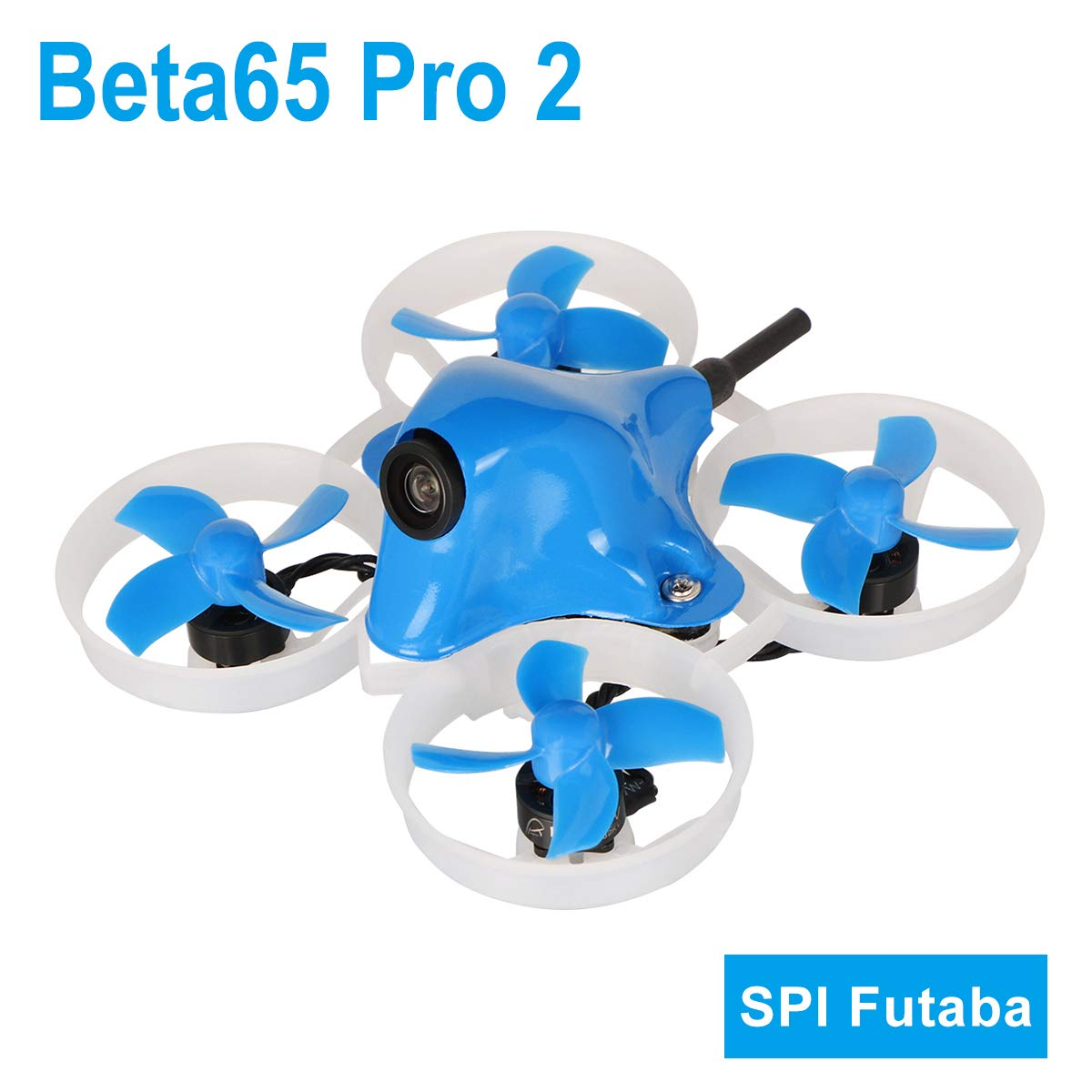 BETAFPV Beta65 Pro 2 Brushless Whoop Drone with 2S F4 AIO FC Futaba RX 5A ESC 25mW Camera 35 Degree OSD Smart Audio 12000KV 0802 Motor PH2.0 Cable for Tiny Whoop FPV Racing B07M61C49B  Futaba