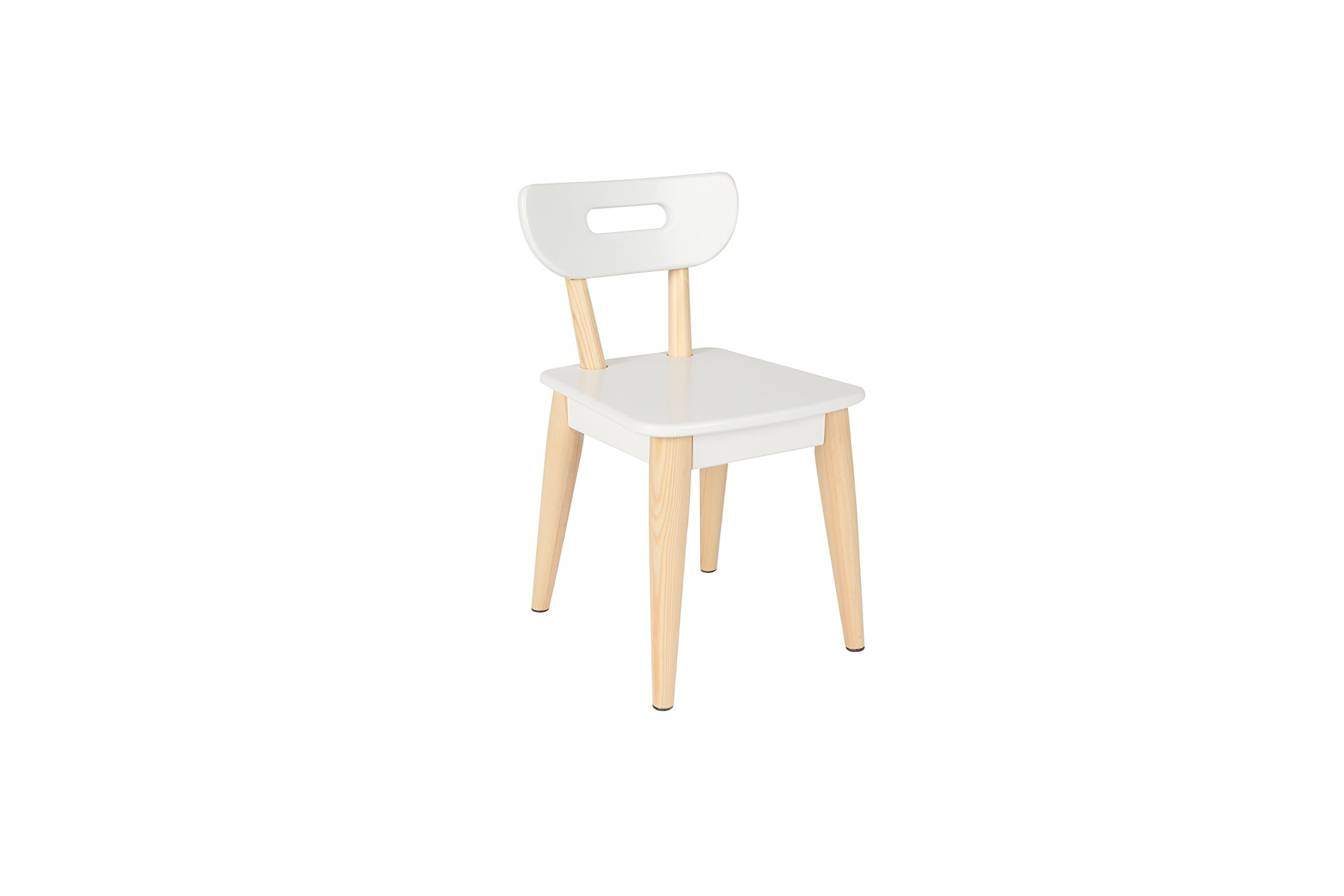 Max & Lily Modern Style Wood Kid and Toddler Chair