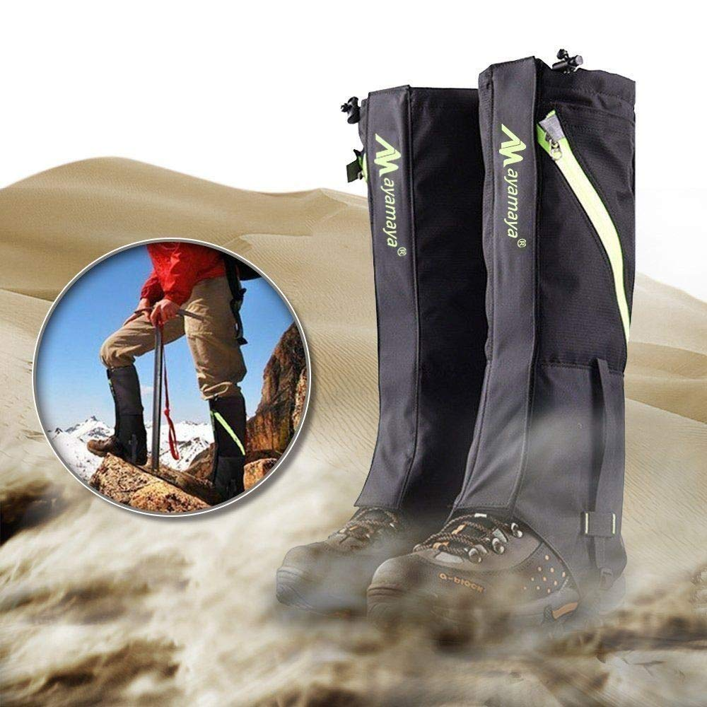 Hiking Mountain Hunting Boot Gaiters Waterproof Snow Snake High Leg Shoes Covers