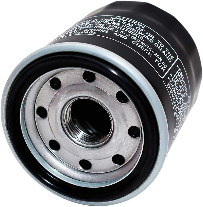 Yerbay Motorcycle Oil Filter for Yamaha YFM350 Bruin Auto 2X4 4X4 350 2004 2005 2006