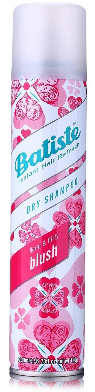 Batiste Divine Dark Dry Shampoo, For Dark & Deep Brown Hair, 200-ml 3624681